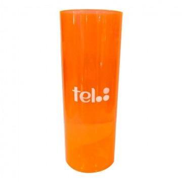 copo laranja