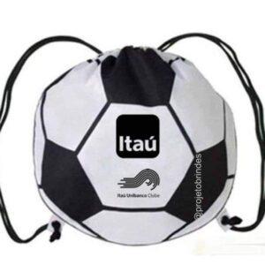 Mochila Saco personalizada em formato de Bola
